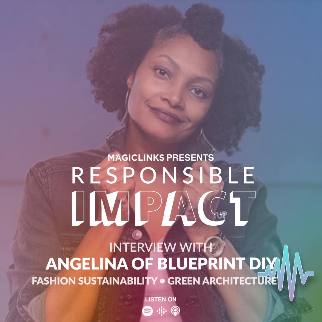 102: UPCYCLING, SUSTAINABLE ARCHITECTURE AND LIFE ADVICE - Angelina of Blueprint DIY