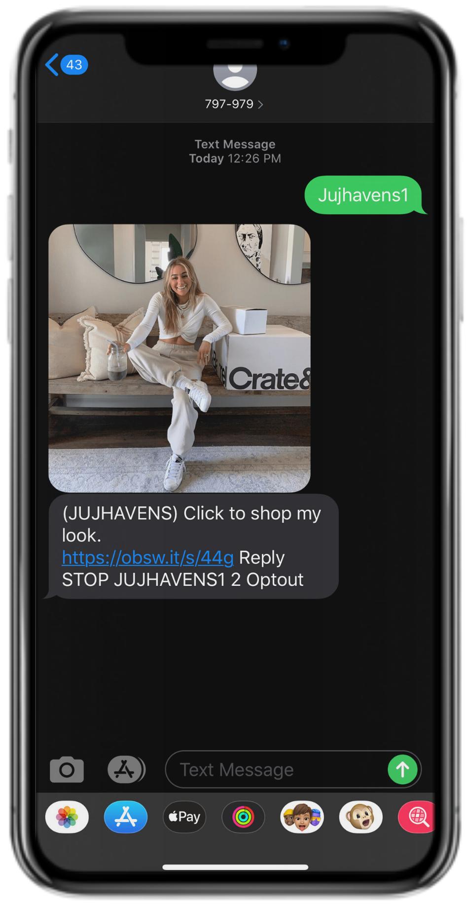 Text2Shop
